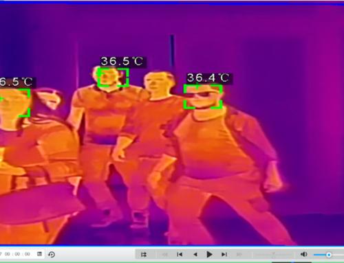 Měření tělesné teploty kamerovým systémem