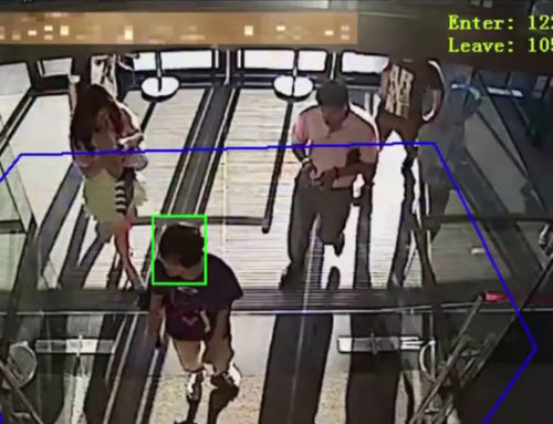 Počítání osob v objektu
